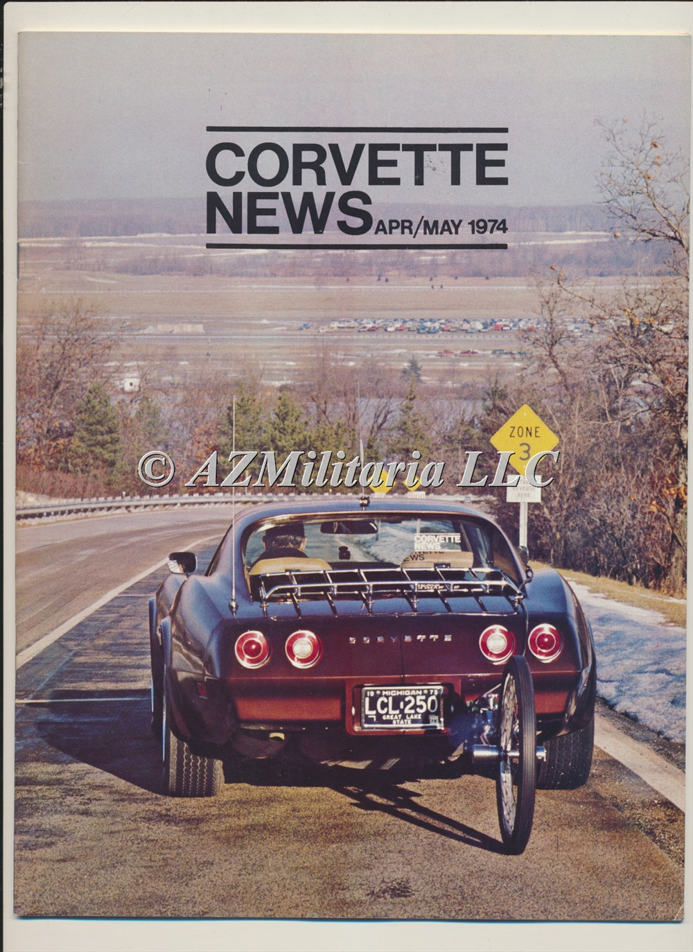Primary image for Corvette News Apr/May 1974