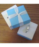 Avon Dream CZ Triple Stone Ring size 8 - $14.00