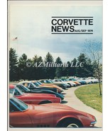 Corvette News Aug/Sep 1974 - $9.75