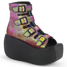Demonia VIOLET-150 Women's Ankle Boots PNGRNIRIVL - $93.50