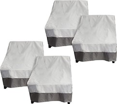 Reusable Revolution 4 Pack Deep Chair Patio Cover - Outdoor Furniture Se... - $72.15