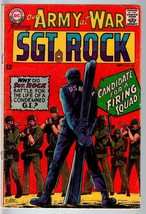 OUR ARMY AT WAR #184 1967-DC WAR COMIC-SGT. ROCK-VG VG - $24.83