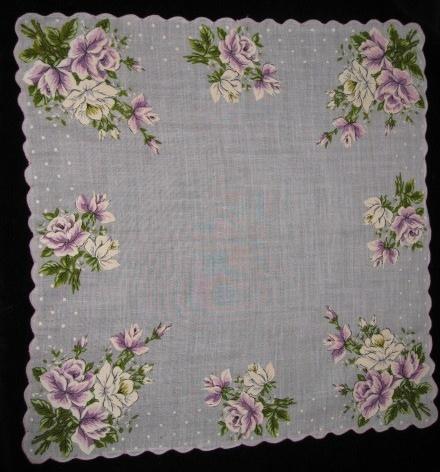 Vintage Handkerchief Trio