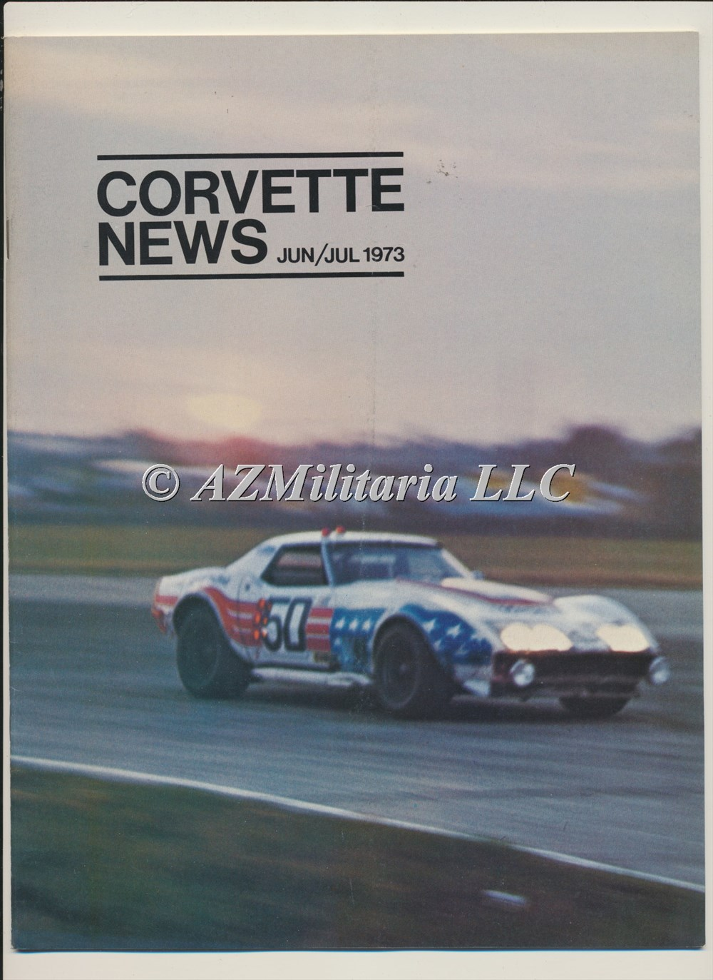 Primary image for Corvette News Jun/Jul 1973