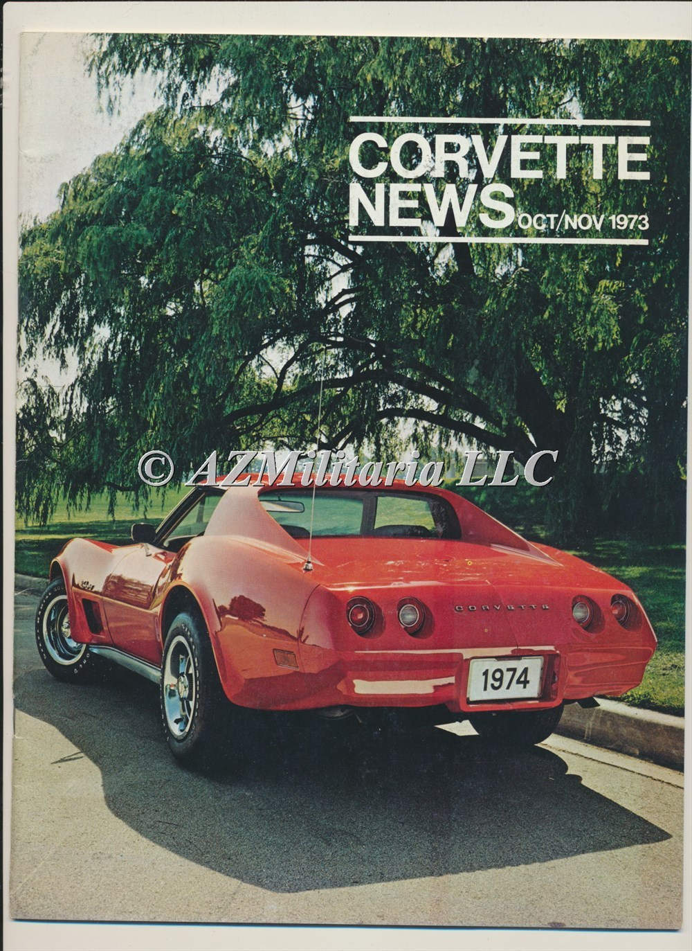 Primary image for Corvette News Oct/Nov 1973