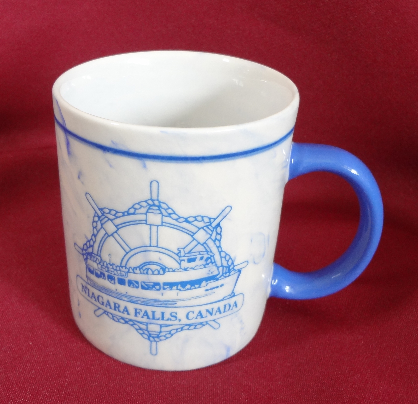 Niagara falls canada maid of the mist 10 oz coffee cup mug  1