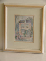 Pencil Signed, Framed Dawna Barton Print  - $42.00