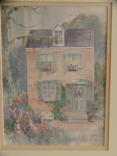 Pencil Signed, Framed Dawna Barton Print