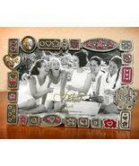 Pewter Whimsical Picture Frame by Fetco - $8.95