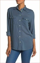 new Frye women shirt long sleeves addie top SAHLTD WFF8BWL01 sz M - $31.57