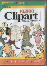 10,000 Clipart Business Royalty Free Scalable Clip Art in WMF + Browser - $4.04