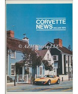 Corvette News Dec/Jan 1975 - $9.75