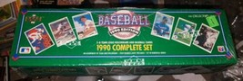 1990 Upper Deck Baseball Cards Complete Set [Factory Sealed] - $39.55