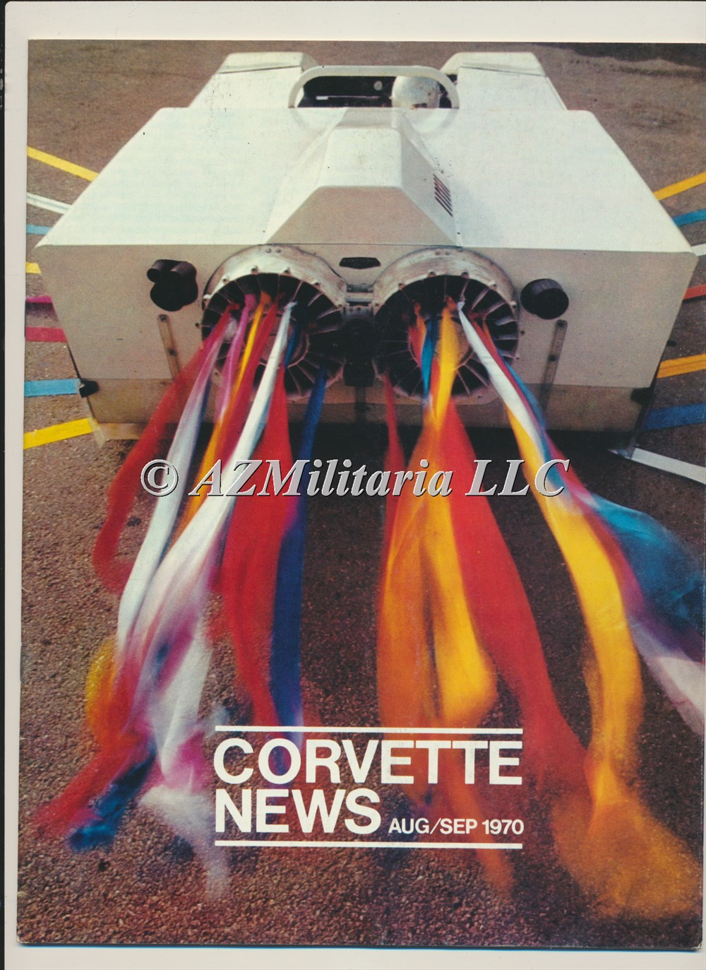 Primary image for Corvette News Aug/Sep 1970