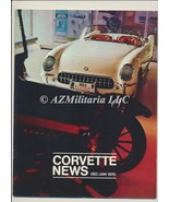 Corvette News Dec/Jan 1970 - $10.75