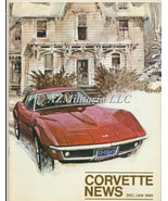 Corvette News Dec/Jan 1969 - $11.75