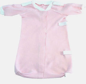 Primary image for Preemie Girls Precious Pink Bag Gown 3-6 Pounds