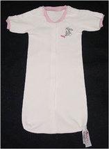 Preemie Girls Floppy Eared Bunny Bag Gown 3-6 Pounds - $17.00