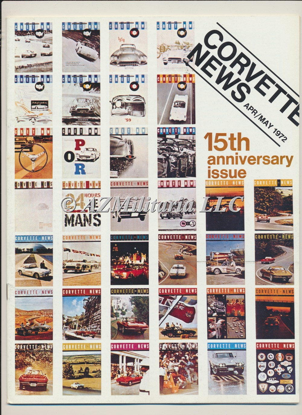 Primary image for Corvette News Apr/May 1972