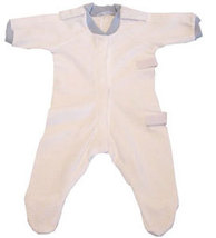 Preemie Angelic White Footed Sleeper Size 3-6 Pounds - $17.00