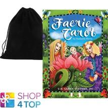 FAERIE TAROT CARDS NATALIE HERTZ ESOTERIC ASTROLOGY GAMES SYSTEMS VELVET... - $28.50