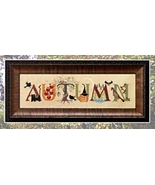 Autumn cross stitch chart Cricket Collection - $7.20