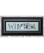 Winter cross stitch chart Cricket Collection - $7.20