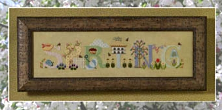 Primary image for Spring cross stitch chart Cricket Collection