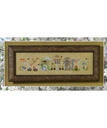 Spring cross stitch chart Cricket Collection - $7.20