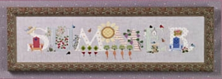 Primary image for Summer cross stitch chart Cricket Collection
