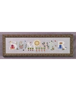 Summer cross stitch chart Cricket Collection - $7.20