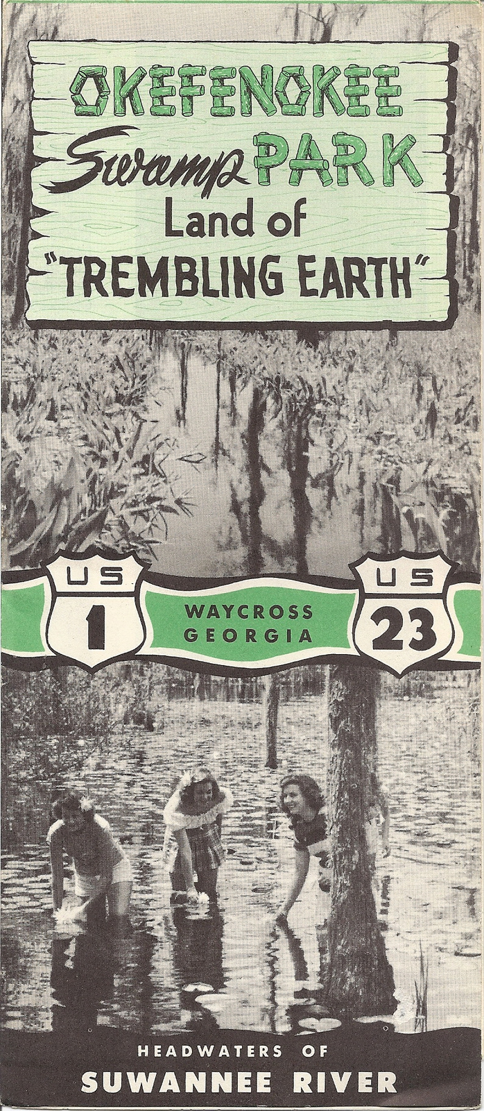 Primary image for Okefenokee Swamp Park Vintage Brochure