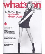 VERONIC DI CAIRE / GORDON RAMSAY @ WHATS ON Mag Aug  2013 - $1.95