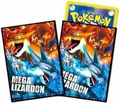Japanese Pokemon Mega Lizardon Sleeves 32ct NEW! - $32.99