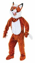 MR FOX WITH BIG HEAD UNISEX COSTUME, ADULT COSTUMES, FANCY DRESS #AU - $55.83
