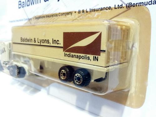 Vintage Matchbox B & L Articulated Trailer 1981 17cm Die Cast Model Car (Rare)