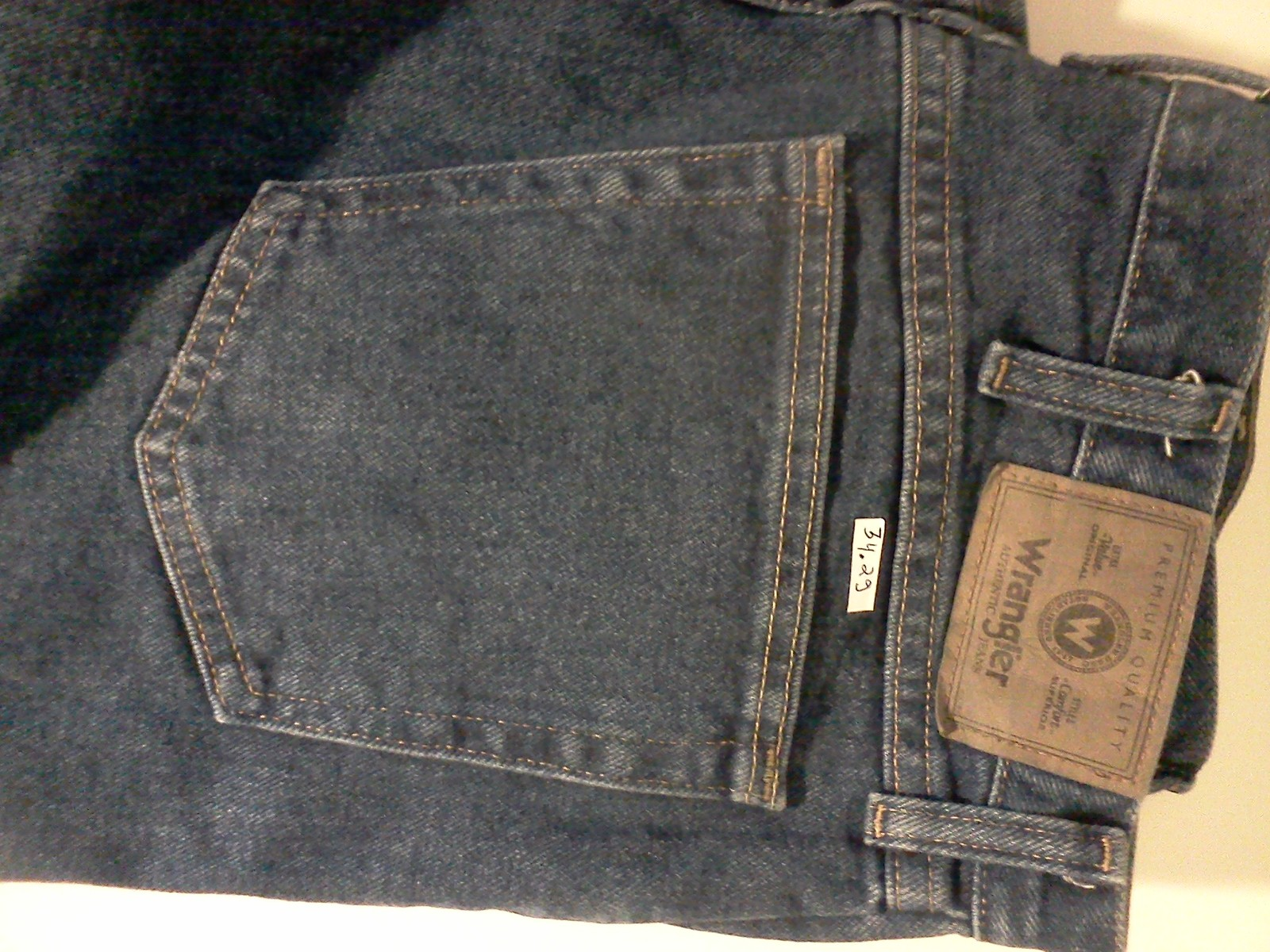 Primary image for Wrangler 34 x 29 jeans blue mdx