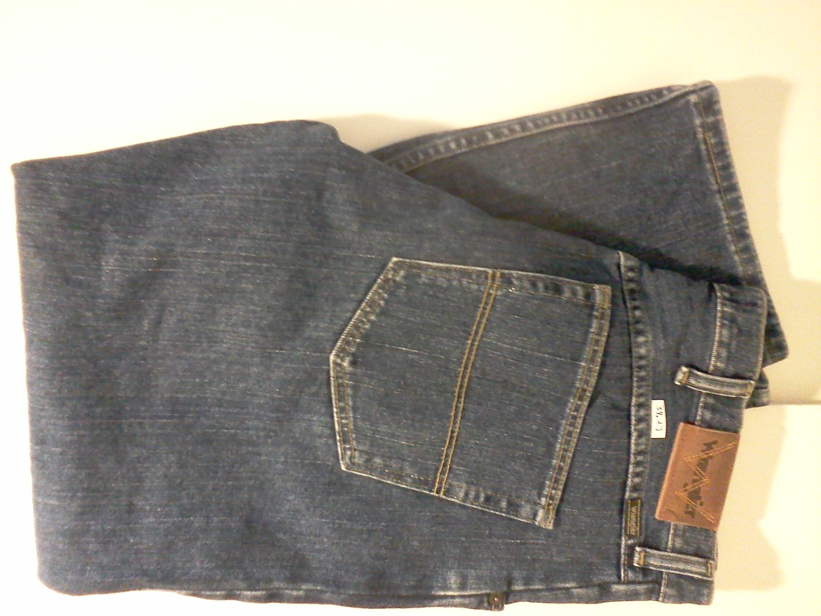 Primary image for Wrangler 34 x 29 jeans blue mdxx