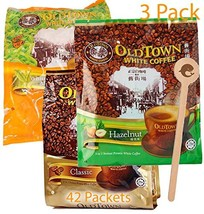 OLD TOWN 3 Pack 3 in 1 Coffee/MilkTea Asian Instant Coffee/MilkTea, oldtown Coff