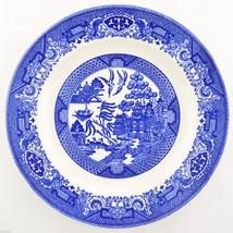 Royal USA China Willow Ware Blue Dinner Plate Tableware Dinnerware Irons... - $9.49
