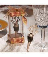 45 Autumn Fall Leaf Design Wedding Wine Bottle ... - $98.82