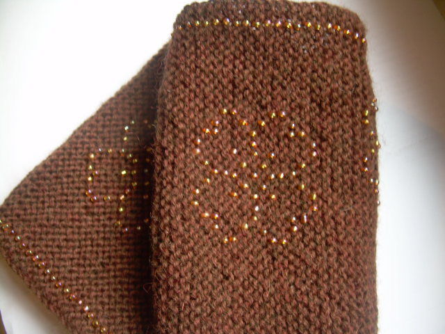 Primary image for Natural Wool Handmade Sparkling Wristbands