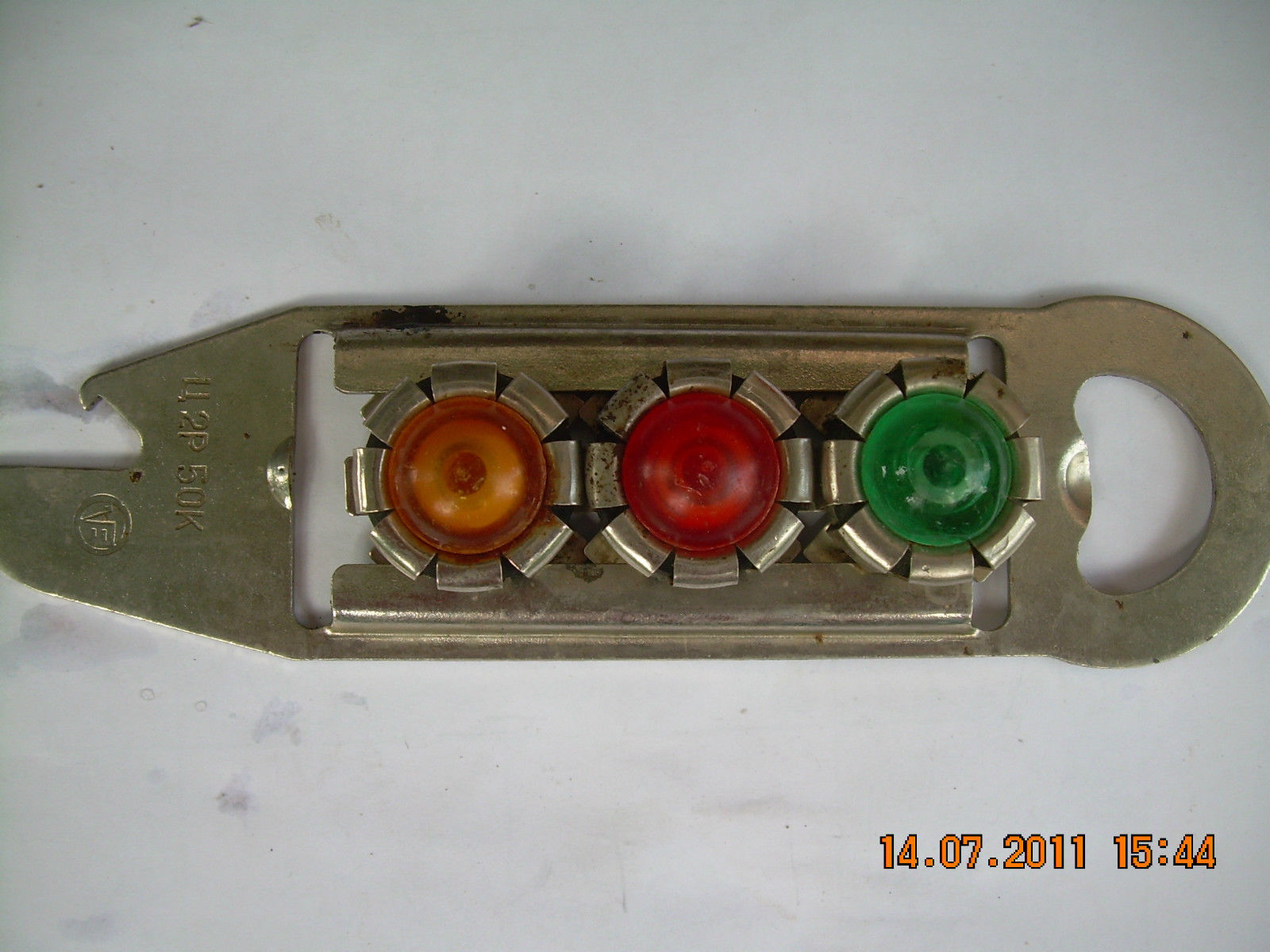 Primary image for Rare Vintage Russian Soviet U.S.S.R. bottle opener  with 3 caps