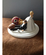 Cake Topper Bridal Weddding Washington Redskins NFL Funny Football team ... - $60.99