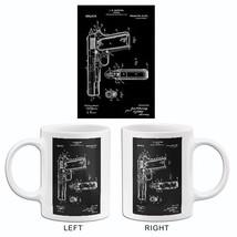 1911 - Firearm - J. M. Browning - Patent Art Mug - $23.99+