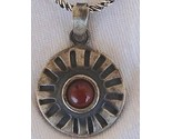 Red pendant with black silver a thumb155 crop