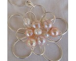 Pink and white pearls pendant  ba 1 thumb155 crop