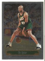 Vin Baker Topps Chrome 99-00 #213 Seattle Supersonics Miwaukee Bucks Bos... - $0.20