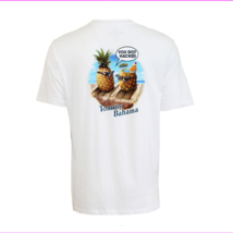 Tommy Bahama Men's You Got Hacked T-Shirt , White, Small - $34.10