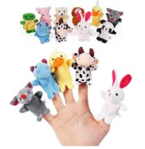 Finger Puppet Plush Dolls Cartoon Animal Biological Infant Baby Favor Ch... - $6.99